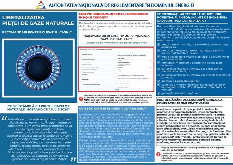 AUTORITATEA NATIONALA DE REGLEMENTARE IN DOMENIUL ENERGIEI